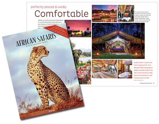 African safaris 2016 brochure