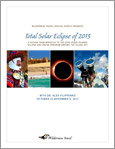 Total Solar Eclipse of 2013 Brochure