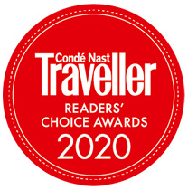 Conde nast traveler logo red