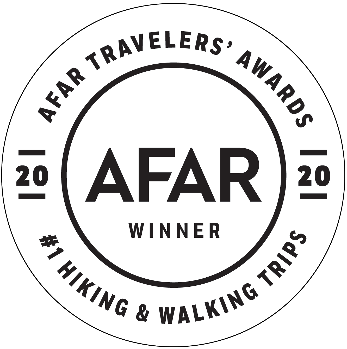 Afar 2020 hiking white