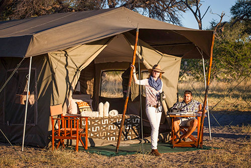 Botswana Mobile Safari Camping
