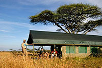 Ndutu Private Camp
