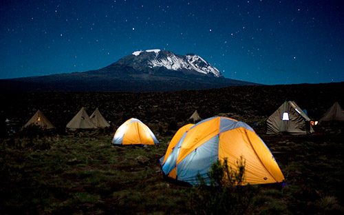 Camping on the Mountain | Wilderness Travel