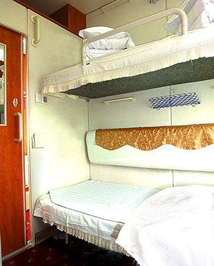 Dunhuang turfan sleeper train 03