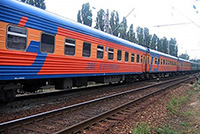 Moscow-St. Petersburg Train