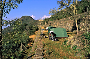Choquequirao Trek Camps