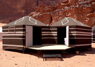 Milky way camp wadi rum 01