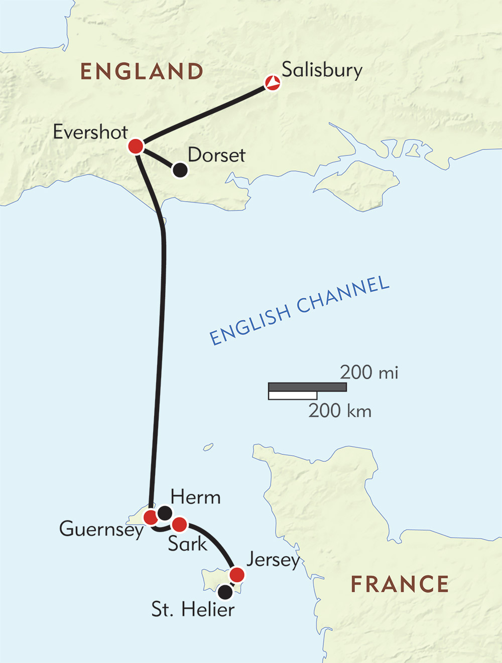 Ancient Britain To The Channel Islands Wilderness Travel