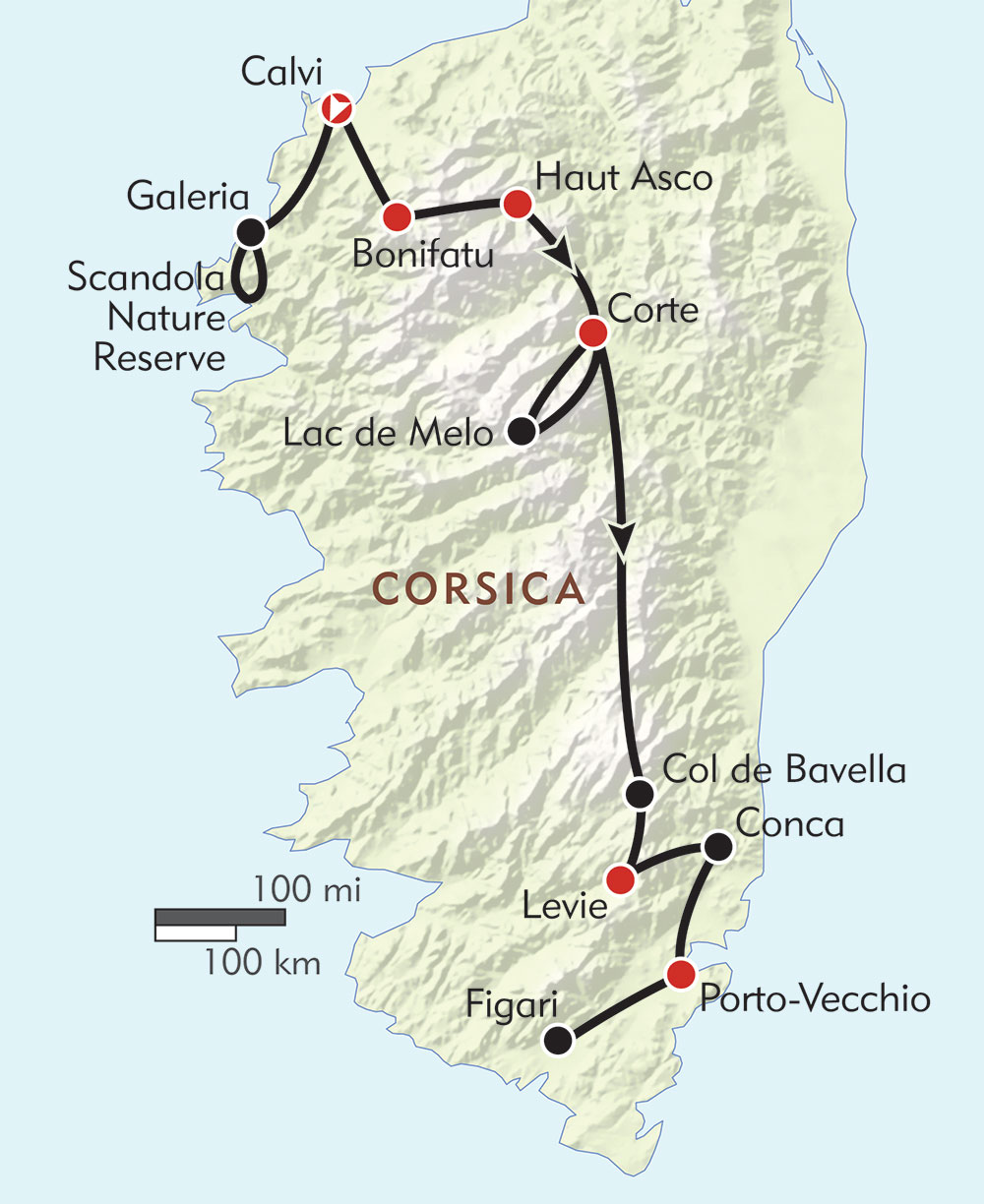 Hiking Tour in Corsica | Wilderness Travel