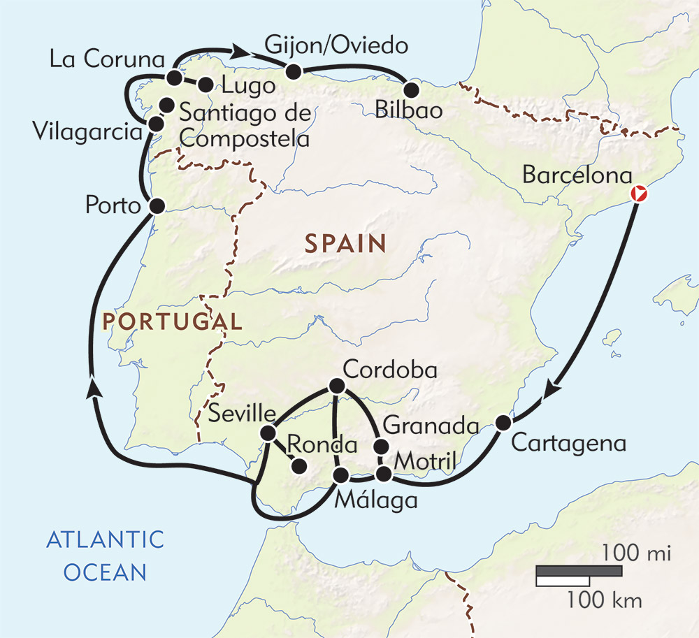 Iberian Peninsula Cruise Wilderness Travel