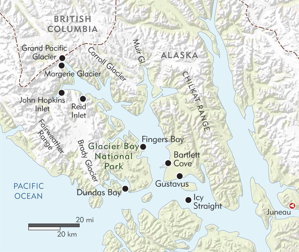 Alaska Exploring Glacier Bay Wilderness Travel