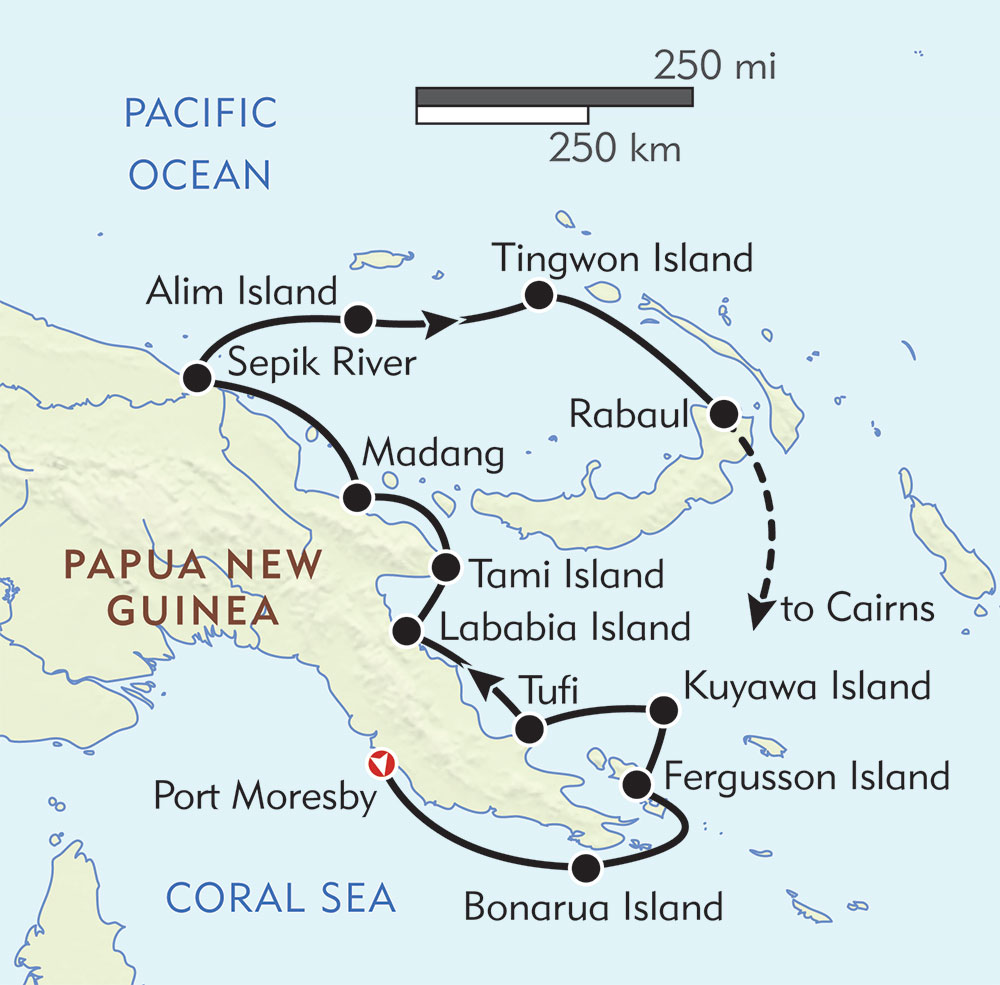 Papua New Guinea Cruise | Wilderness Travel