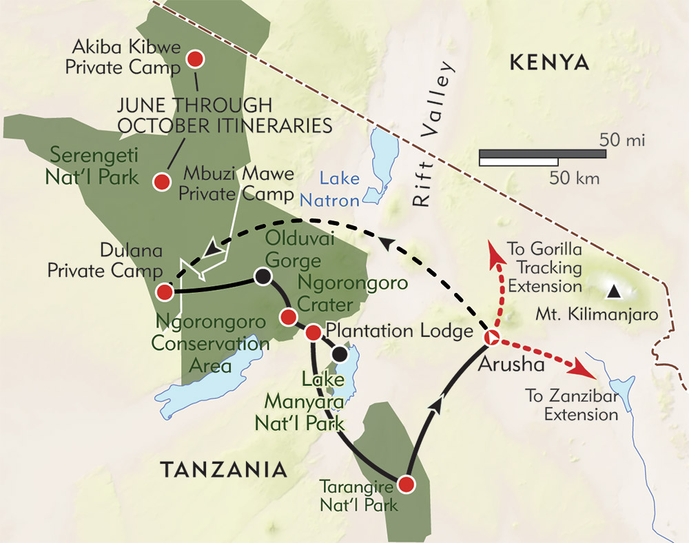 Tanzania: The Great Migration Safari | Wilderness Travel