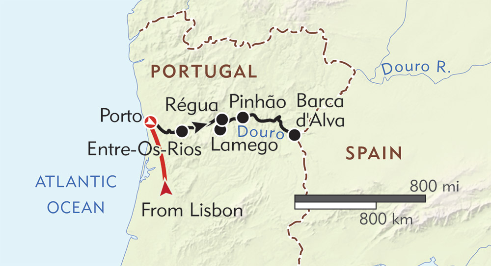 Enticing Douro route-map