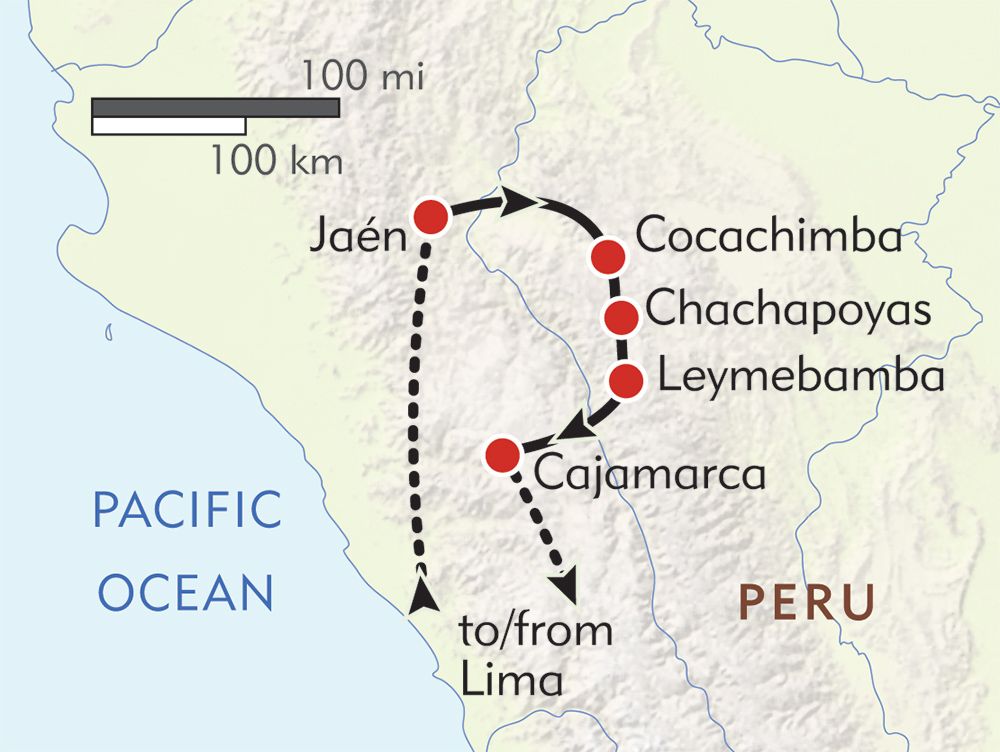 Chachapoyas! route-map