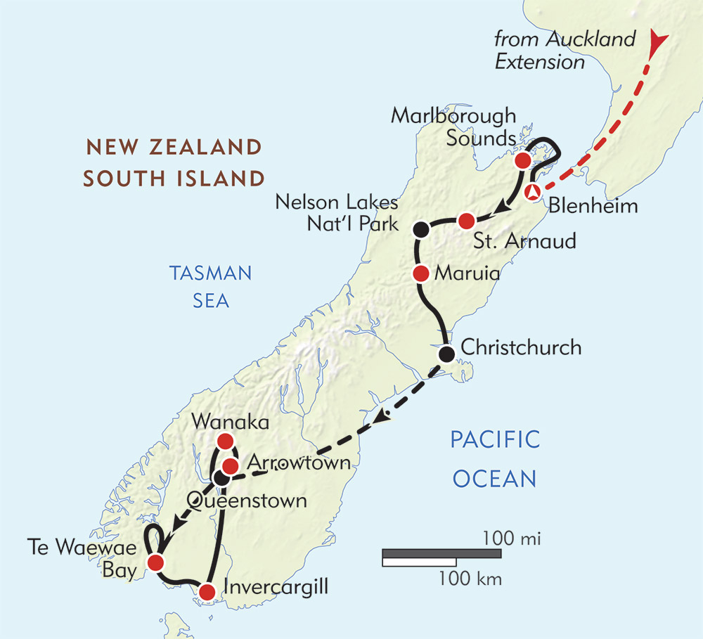 New Zealand's Te Araroa: The South Island route-map