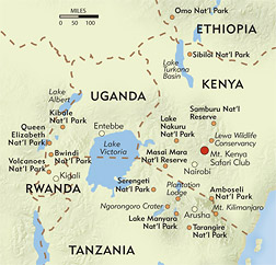 Perspectives on East Africa route-map
