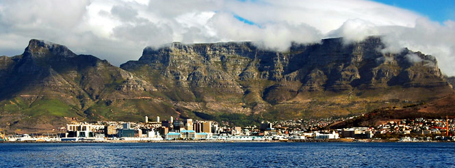 cape town table mountain south africa