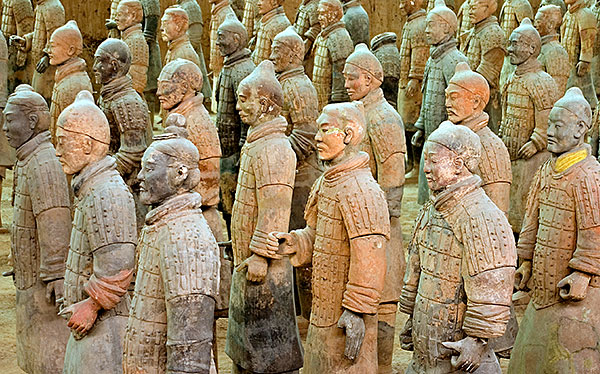 china x ian silk road terra cotta warriors