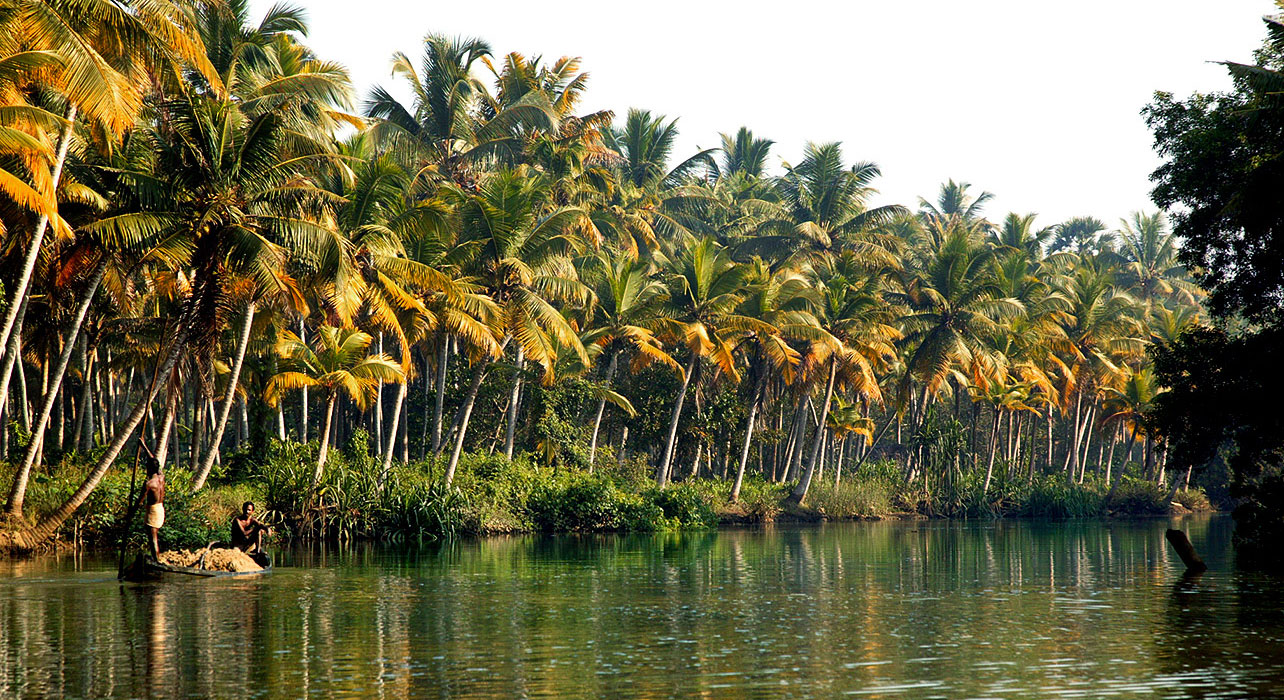 south india malabar coast kerala waterways