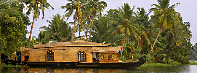 kerala houseboat india cultural tour