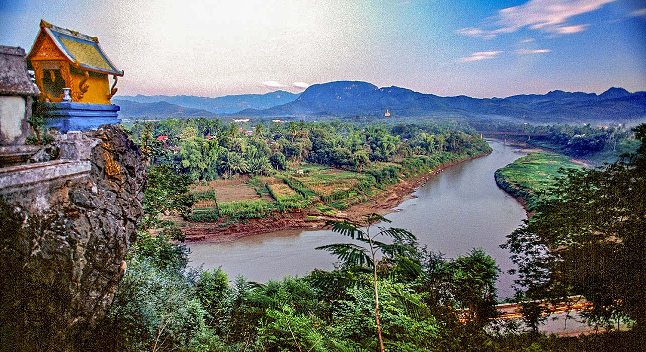 the laos mekong itinerary map wilderness travel