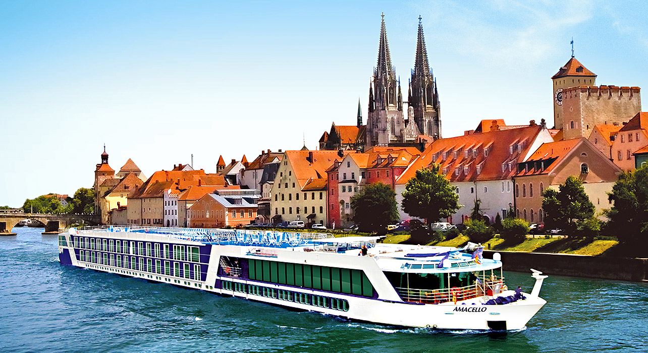 Blue Danube Discovery Cruise Itinerary Map Wilderness Travel - Danube cruise
