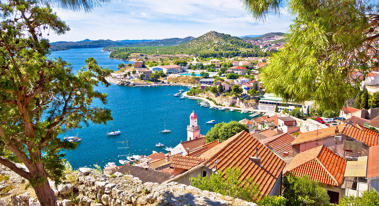 The Dalmatian Coast and Montenegro Itinerary Map Wilderness Travel