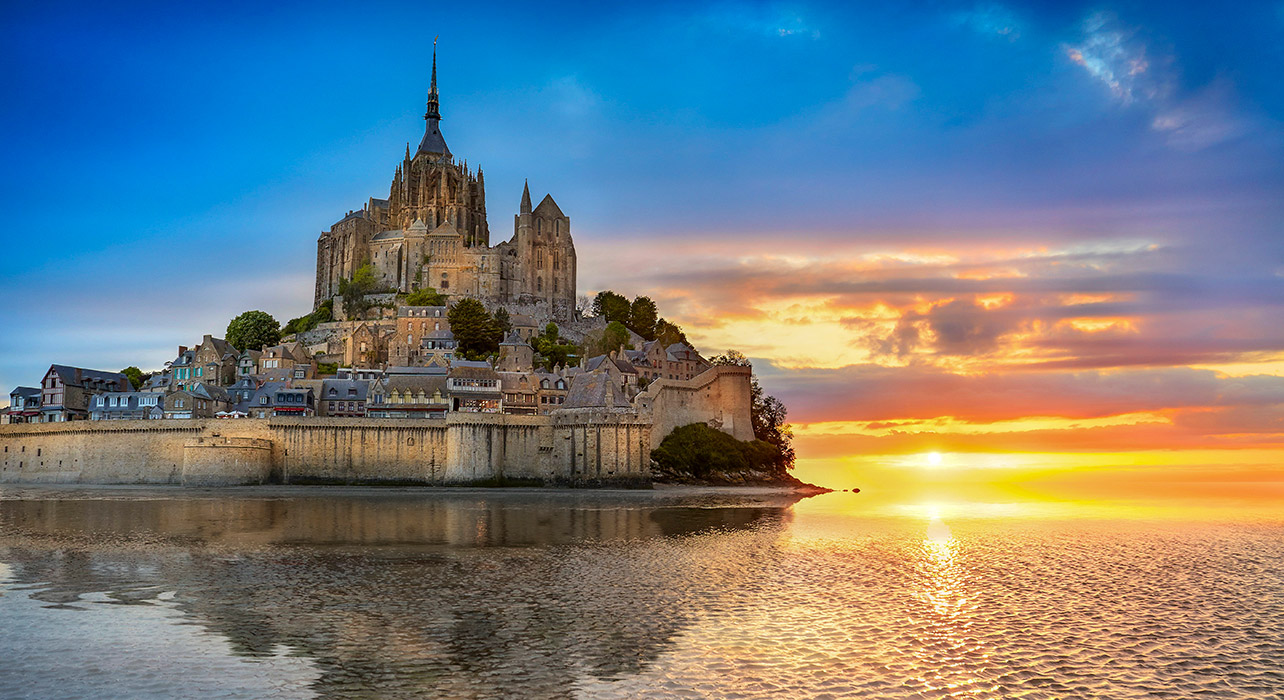 normandy and brittany itinerary map wilderness travel
