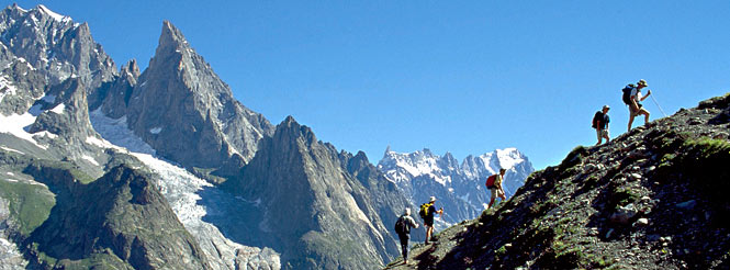 mont blanc circuit hiking tour alps