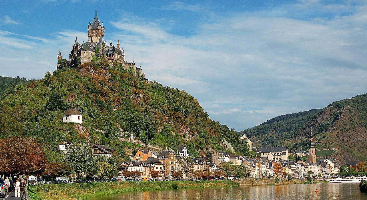 Enchanting Rhine Itinerary Map Wilderness Travel - Rhine valley germany map