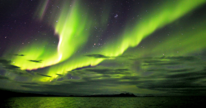 Wt East Greenland Northern Lights Wilderness Travel