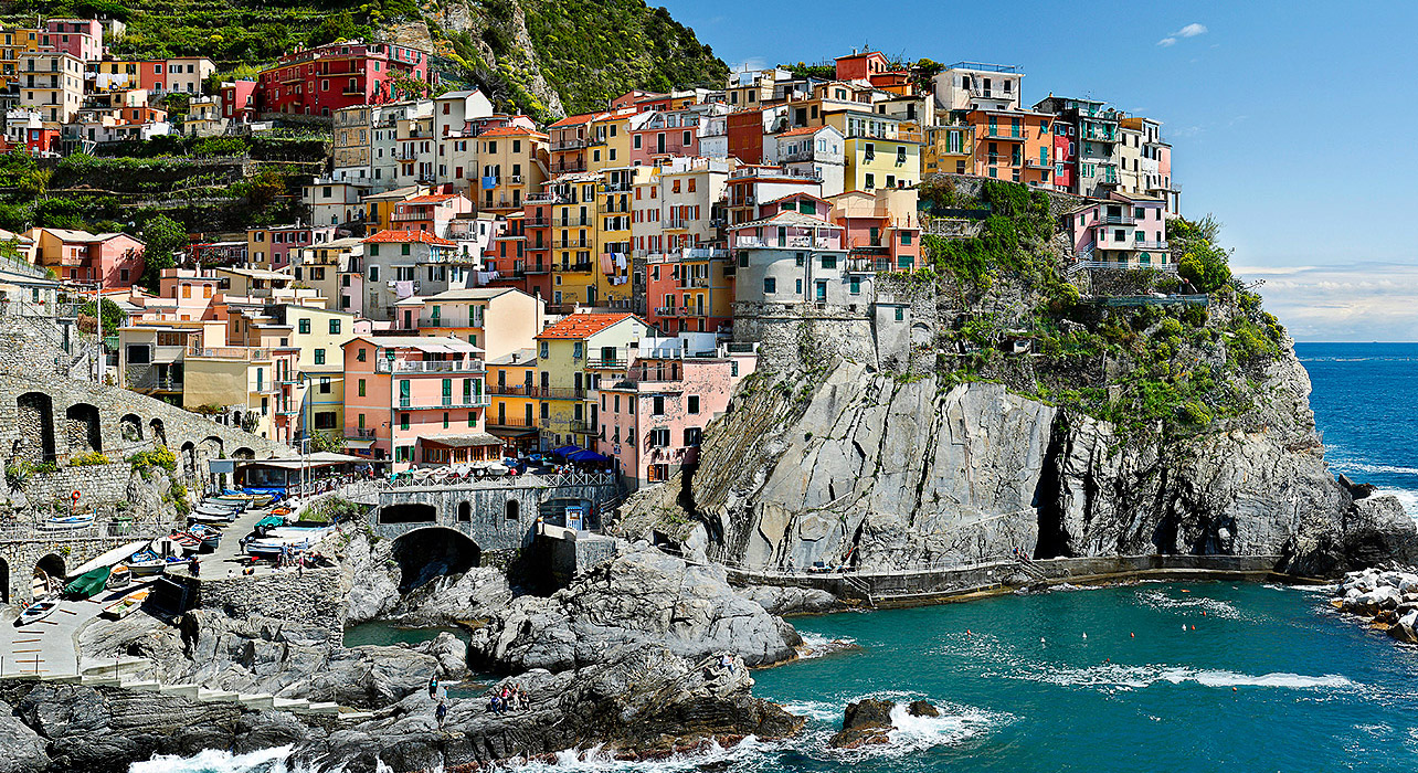 Tuscany Portofino and the Cinque Terre  Itinerary  Map