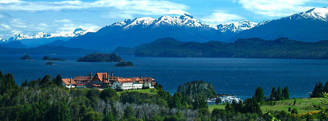 bariloche argentina lake district patagonia nahuel huapi