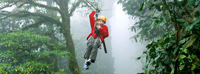 zipline cloud forest costa rica