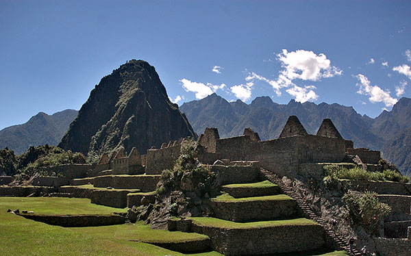 peru machu picchu mountain sanctuary