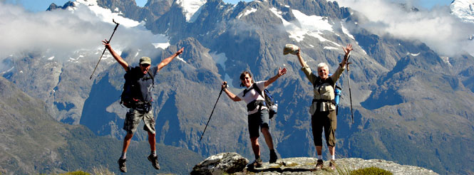 new zealand south island hiking tour